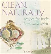 Cover of: Clean, Naturally