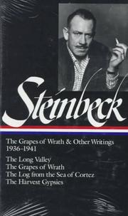 Cover of: The grapes of wrath and other writings, 1936-1941