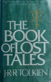 Cover of: The Book of Lost Tales, Part One