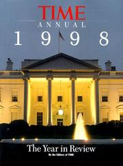 Cover of: Time Annual 1998: The Year in Review