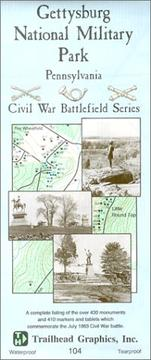 Cover of: Gettysburg National Military Park (Civil War battlefield series) | Inc Trailhead Graphics