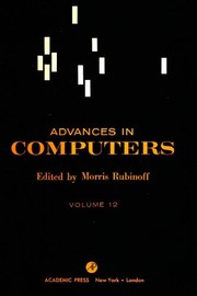 Advances in Computers by Marshall C. Yovits