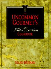 Cover of: The uncommon gourmet's all-occasion cookbook
