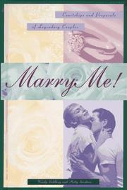 Cover of: Marry me!