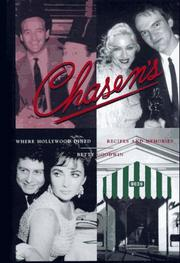 Cover of: Chasen's, where Hollywood dined