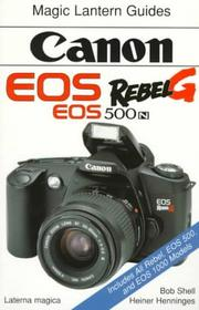 Cover of: Canon EOS Rebel G, EOS 500 N