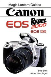 Cover of: CANON EOS Rebel 2000