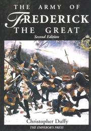 Cover of: The army of Frederick the Great