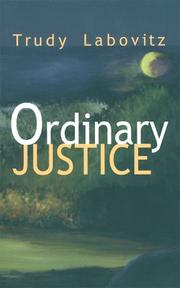 Cover of: Ordinary justice