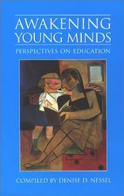 Cover of: Awakening young minds |