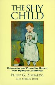 Cover of: The shy child