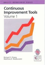 Cover of: Continuous improvement tools