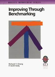 Cover of: Improving through benchmarking