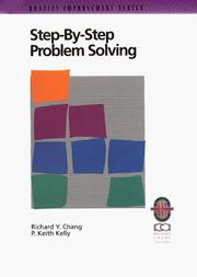 Cover of: Step-by-step problem solving