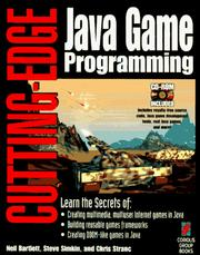Cover of: Cutting-edge Java game programming