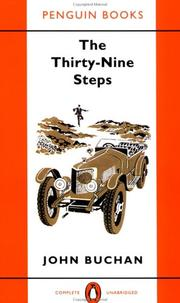 Cover of: The Thirty-Nine Steps (Classic Crime)