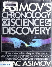 Cover of: Asimov's chronology of science and discovery | Isaac Asimov