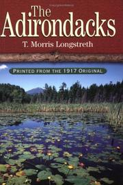 Cover of: The Adirondacks