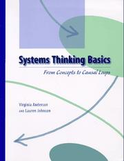 Systems thinking basics by Virginia Anderson