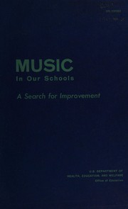 Cover of: Music in our schools