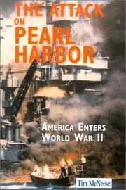 Cover of: The Attack on Pearl Harbor