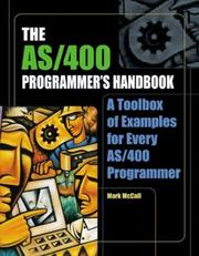 Cover of: AS/400 programmer's handbook