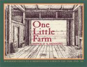 Cover of: One little farm