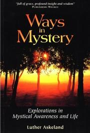 Cover of: Ways in mystery