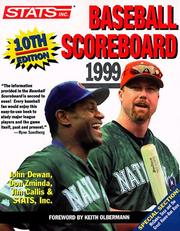 Cover of: Stats 1999 Baseball Scoreboard (10th ed) |