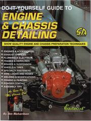 Cover of: Do-it-yourself guide to engine & chassis detailing | Richardson, Jim