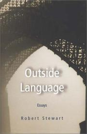 Cover of: Outside language