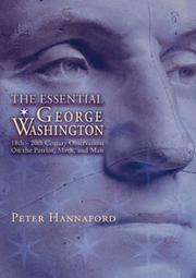 Cover of: The Essential George Washington