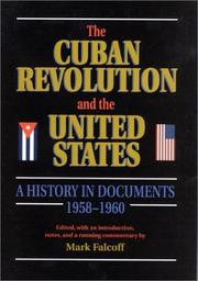 Cover of: The Cuban Revolution and the United States |