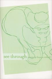 Cover of: See Through | Frances Richard
