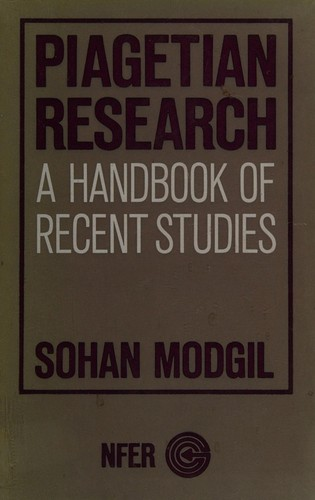 Piagetian research by Sohan Modgil