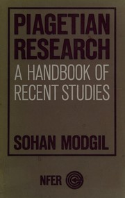 Cover of: Piagetian research | Sohan Modgil