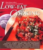Cover of: Low-Fat Cooking (Great Cooks Cookbooks)