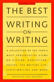 Cover of: The best writing on writing |