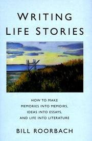 Cover of: Writing life stories