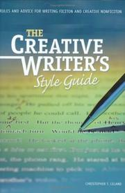 Cover of: creative writer
