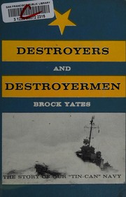 Cover of: Destroyers and destroyermen