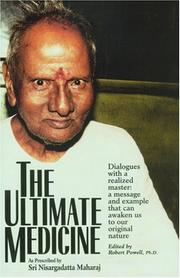 Cover of: The ultimate medicine