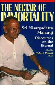 Cover of: The Nectar of Immortality