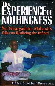 Cover of: The Experience of Nothingness