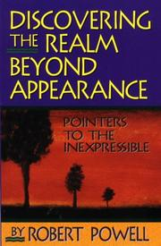 Cover of: Discovering the realm beyond appearance