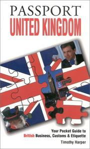 Cover of: Passport United Kingdom