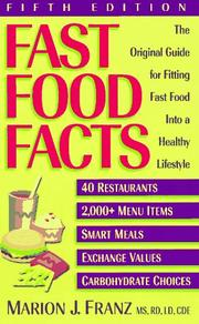 Fast Food Facts by Marion J. Franz