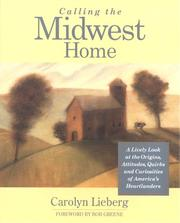 Cover of: Calling the Midwest home