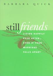 Cover of: Still Friends