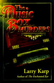 Cover of: The Music Box Murders